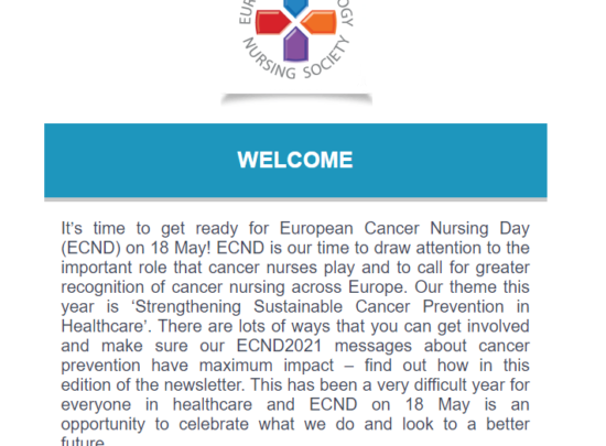 EONS Newsletter April 2021