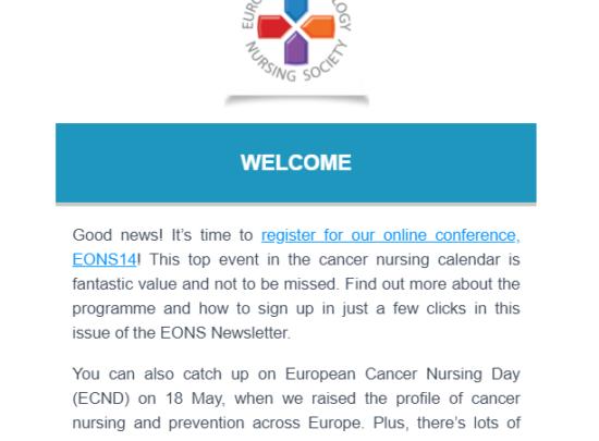 EONS Newsletter June 2021
