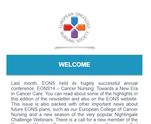 EONS Newsletter October 2021