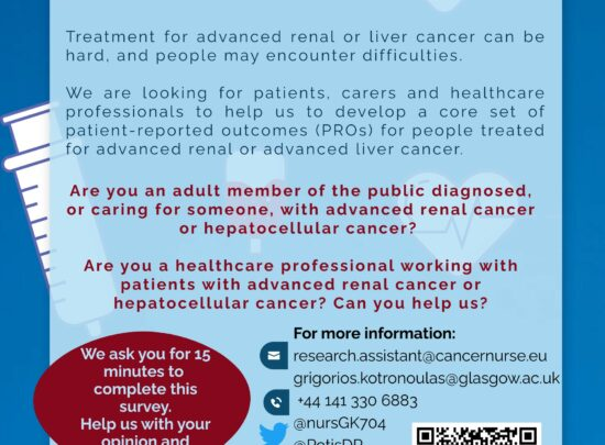 Advanced liver or renal cancer – Join the Delphi study
